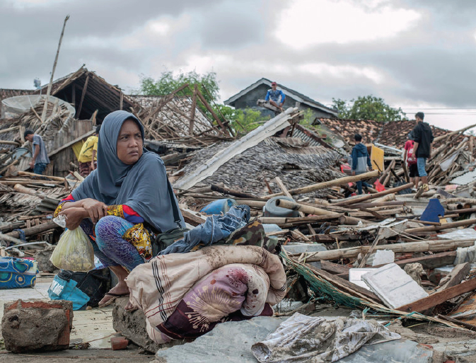 Hundreds dead after Tsunami strikes Indonesia