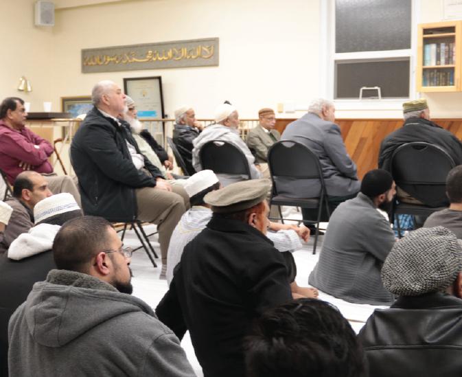 Annual Daras at Masjid ul Haqq
