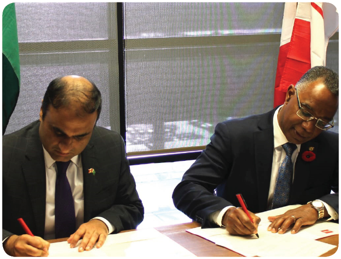 Pakistan and Canada Sign MoU on Scientific and technical cooperation
