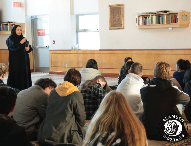 Surrey Masjid Welcomes Students from Surrey Christian School