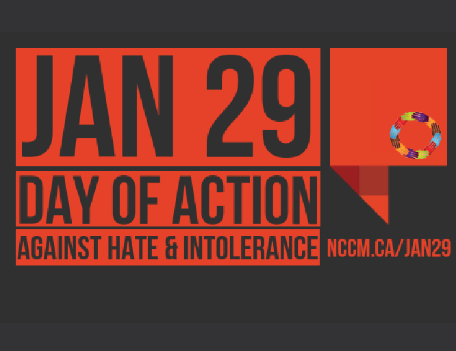 NCCM: OPEN LETTER TO GOVERNMENT CALLS FOR JANUARY 29 TO BE NATIONAL DAY OF ACTION AGAINST HATE & INTOLERANCE