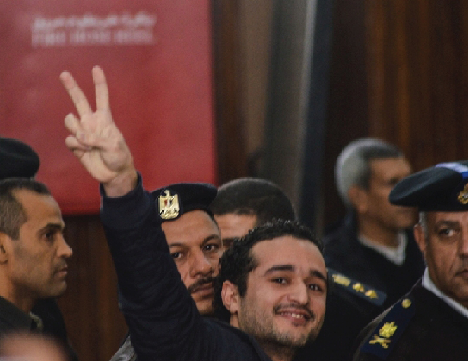 Egyptian pro-democracy activist sentenced to 15 years in jail