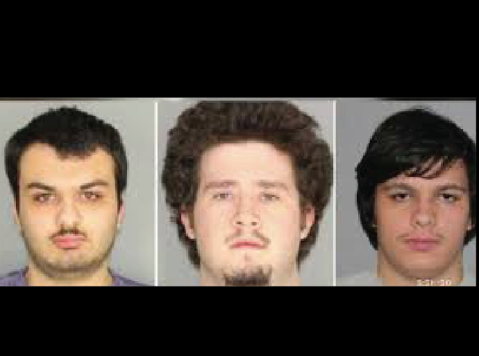 3 charged with planned explosive attack on Muslim community