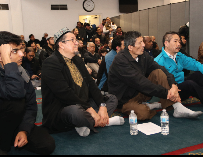 Community dinner to raise awareness about the oppression faced by Uyghur and Rohingya Muslims.