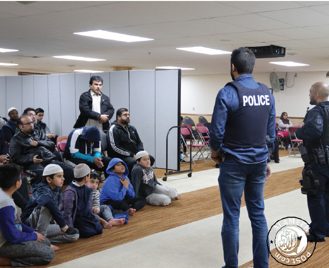 """Shattering The Image"" Anti Gang session at Surrey Jamea Masjid"