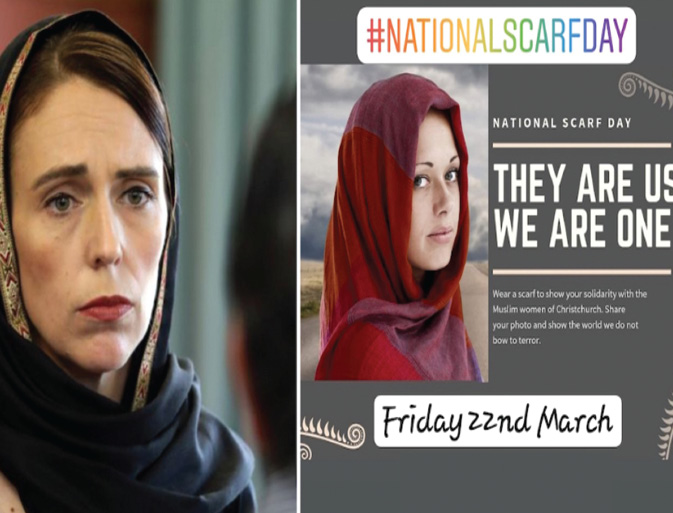 "New Zealand women will hold ""National Scarf Day"" this Friday (22nd March)"