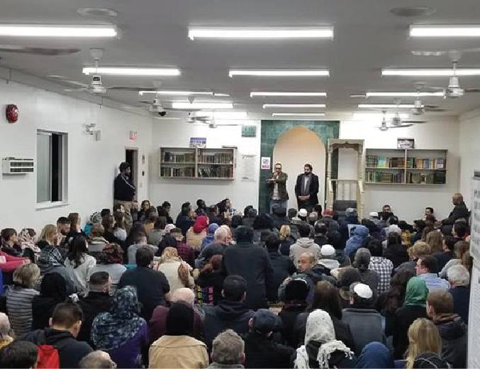 New Zealand Mosque shootings prayer and Gathering at Al Jamia Masjid Vancouver