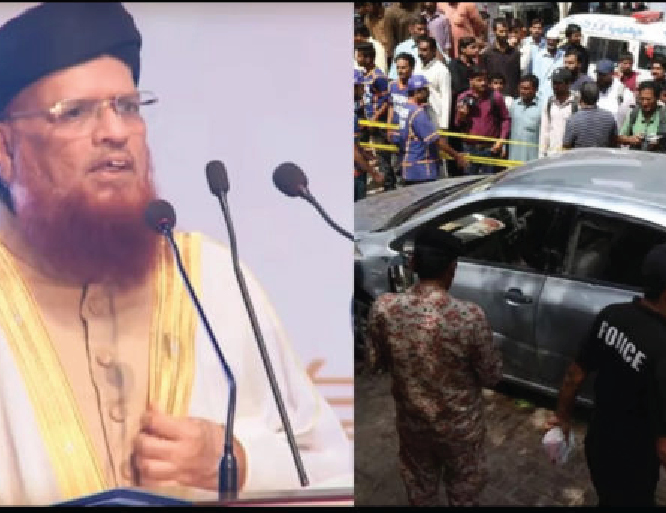 Karachi: Mufi Taqi Usmani and family survive assassination attempt