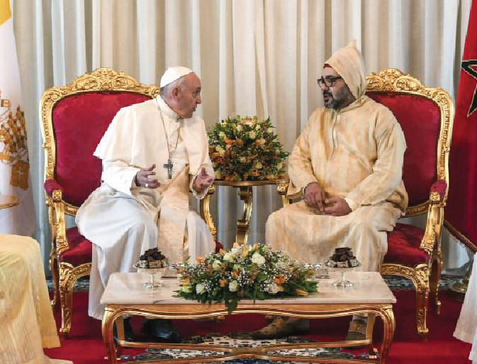 "Pope in Morocco: ""Jerusalem is for Christians, Jews and Muslims"""