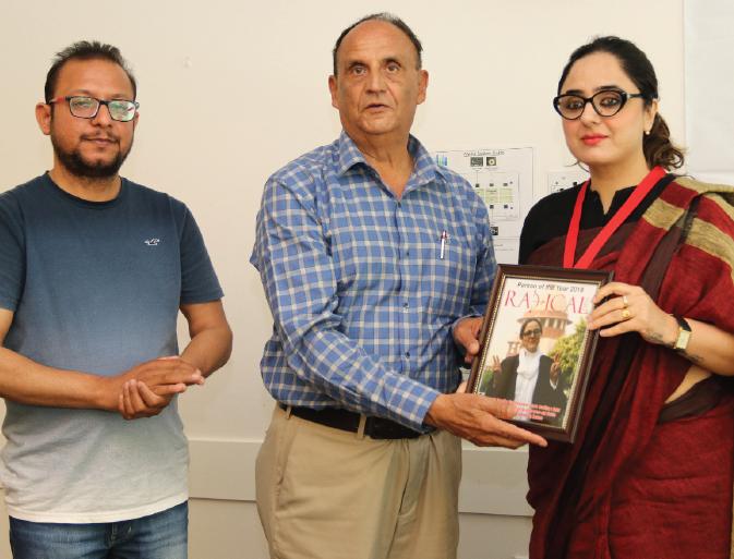 IAPI hosts Human Rights Defender Deepika Singh Rajawat