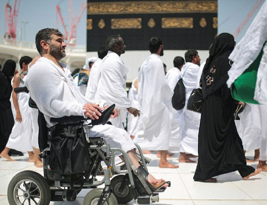 Making Hajj in a Wheelchair