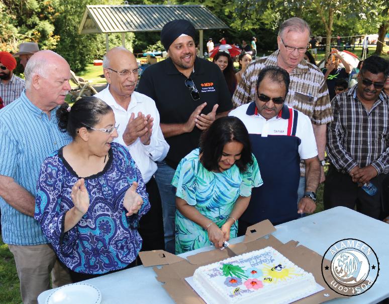 Community BBQ with MLA Rachna Singh