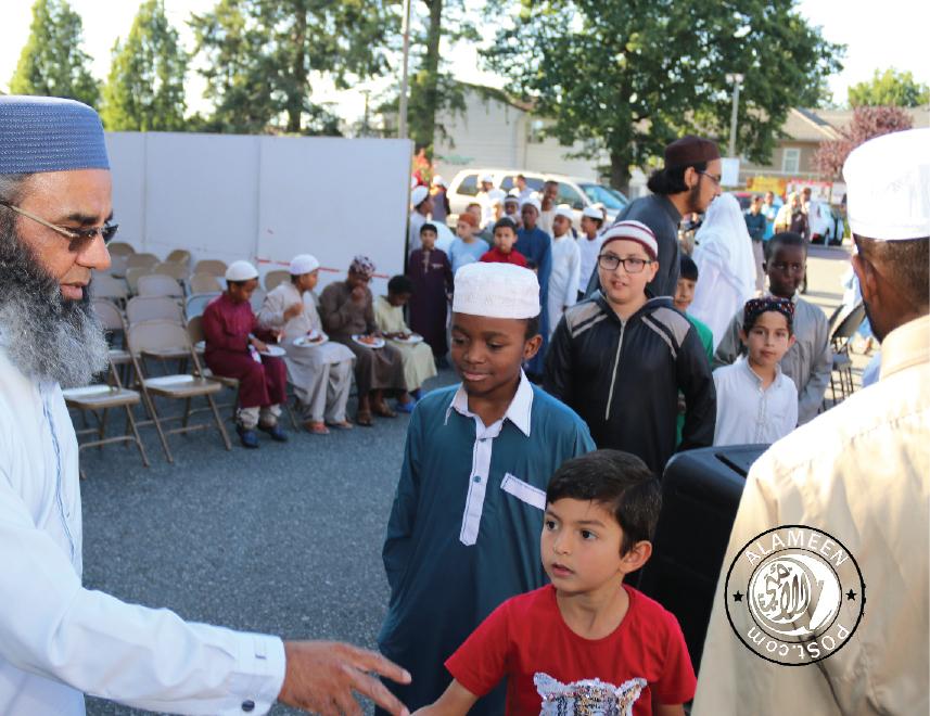 Surrey Jamea masjid holds BBQ for their Maktab classes