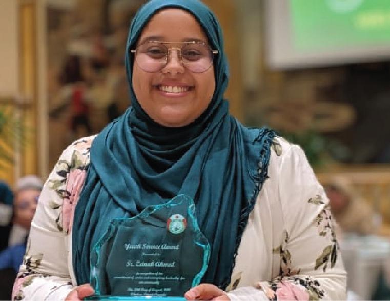 Zeinab Ahmed's 12 years of volunteering with Windsor Muslims