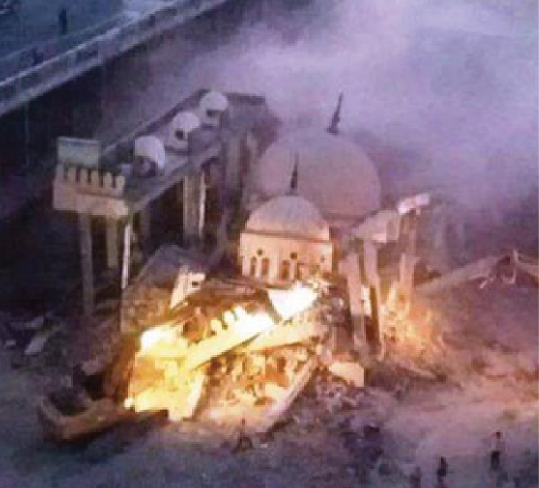 Egypt's Sisi destroys Sufi holy site to make way for highway