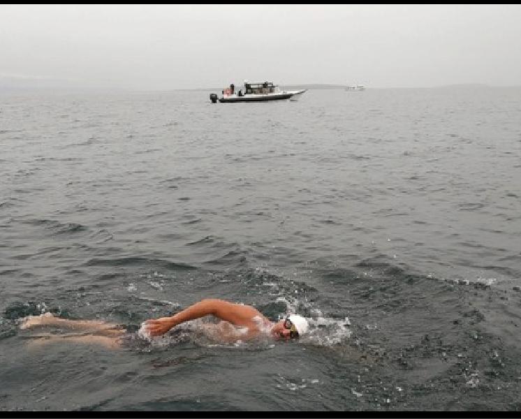 Meet First Muslim, Oldest Man to Swim across North Channel