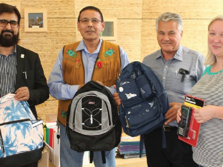 Starting school on the right foot: Muslim community donates supplies to Ndilo, Detah students