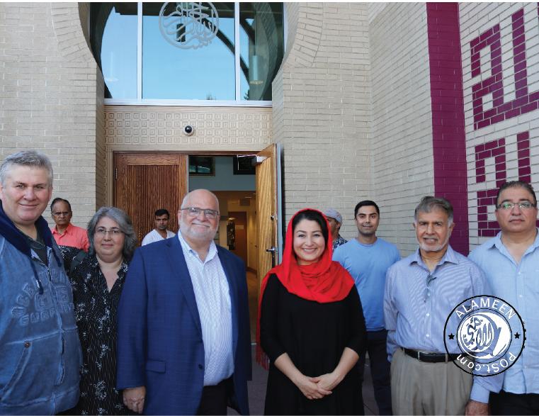 Hon. Maryam Monsef Visits Masjid Al Hidaya