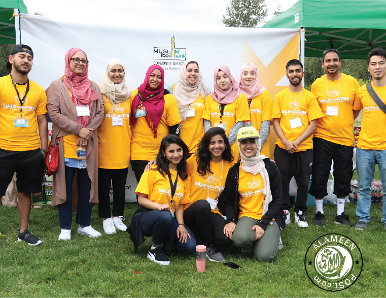 Muslim Food Bank and Community Services hosted their very first 4km Walk-A-Thon