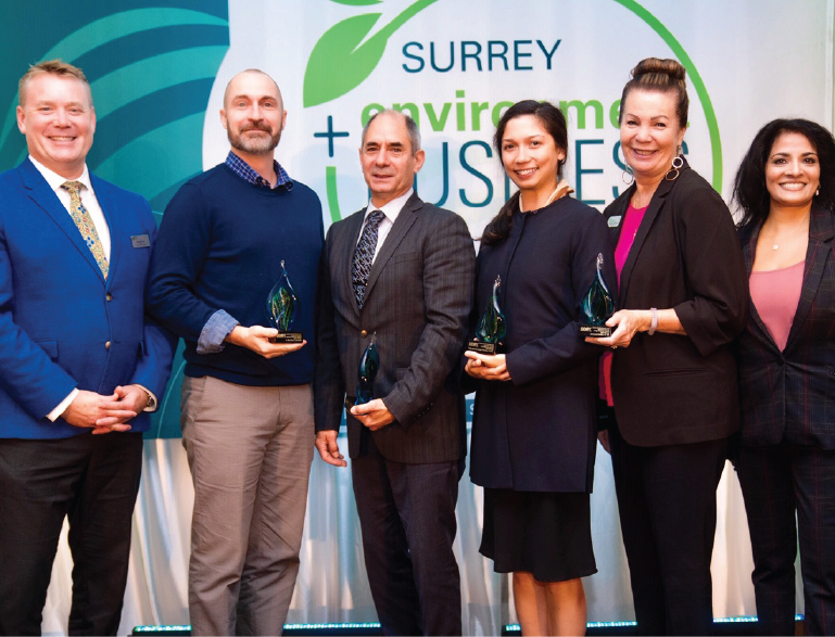 Surrey Board of Trade Announces  2019 Surrey Environment & Business Awards Winners