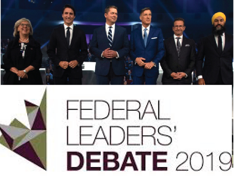 Canadian Federal Leaders Debate 2019 Highlights