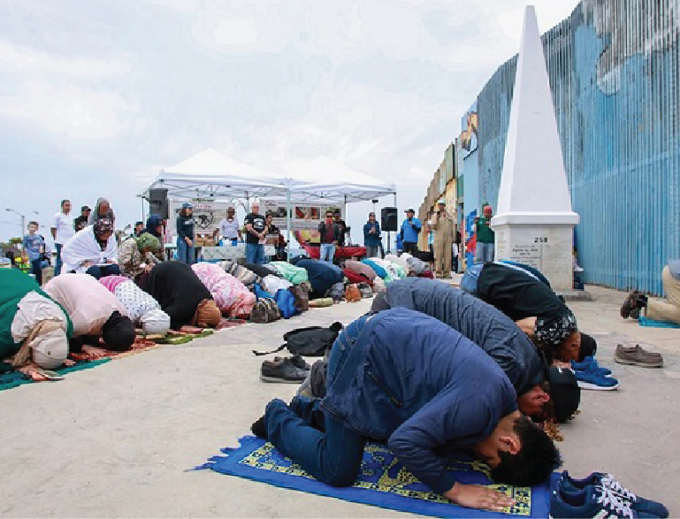 Religious Leaders Pray for Separated Families at US-Mexico Border