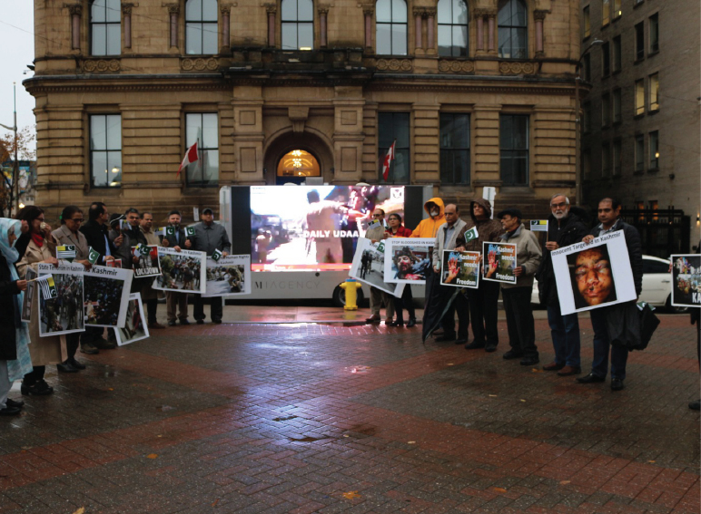 Kashmir Black Day at Ottawa