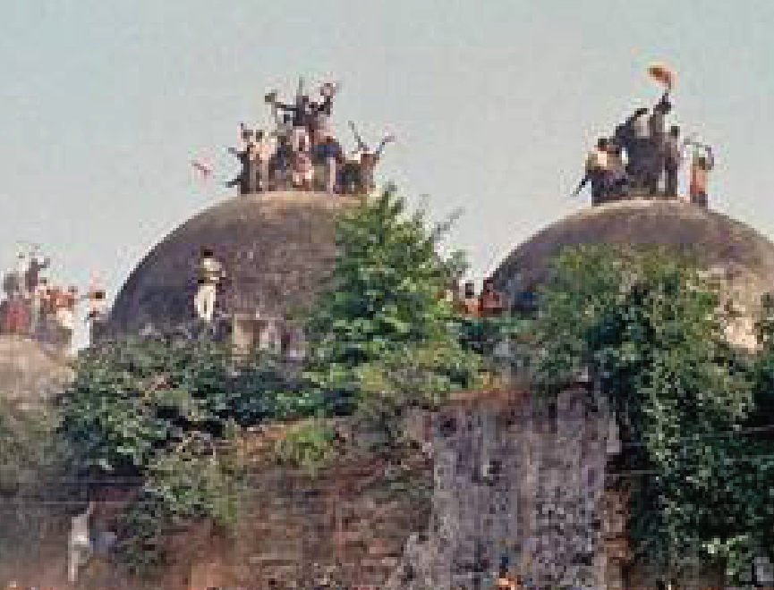 Indian Supreme Court decision on Babri Mosque demolition goes to Ram Temple.