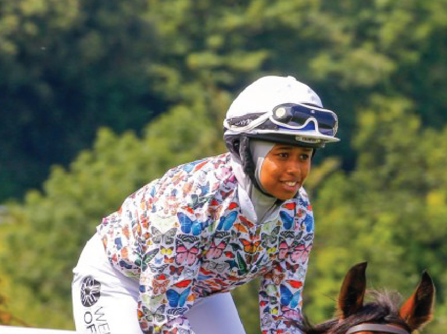 This 18-Year-Old Is First Female Muslim Jockey to Win Major Race