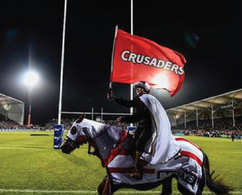 NZ's Crusaders Change Logo in Wake of Mosque Attacks