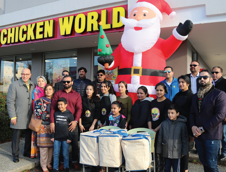 Chicken World giving back to the community