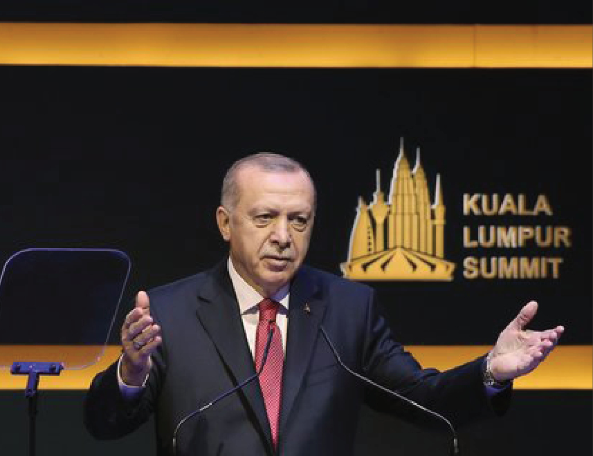 Erdodan: Fate of 1.7 billion Muslims in the world should not be in hands of 5 countries