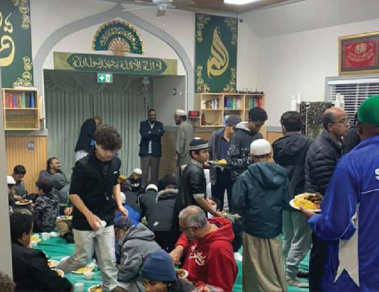 Masjid Al Huda hosts 3rd Annual New year's Eve program.