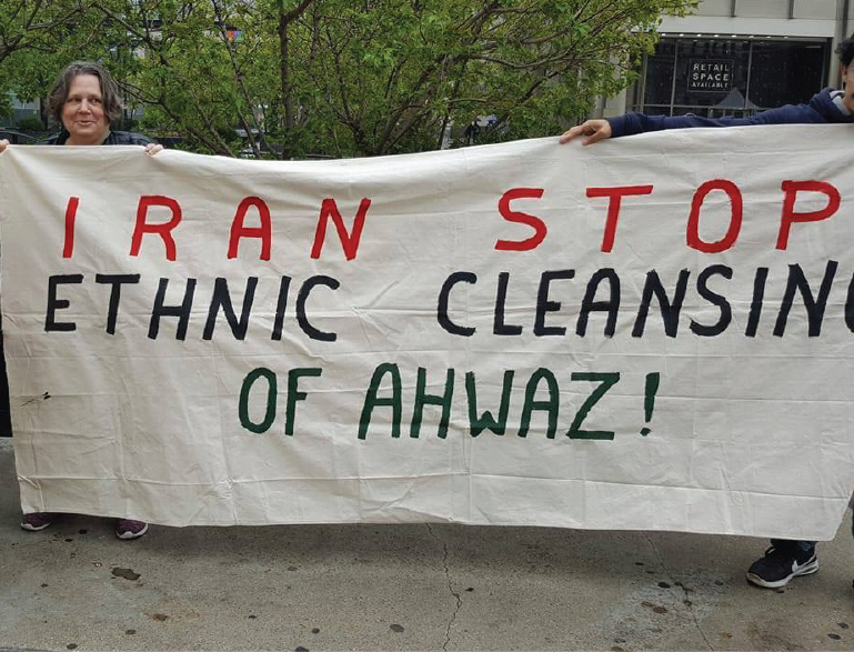 Brutal suppression of Ahwazi People in Iran