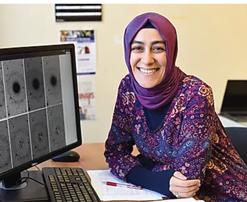 Turkish Muslimah Scientist Discovered A New Galaxy And Its Now Named After Her