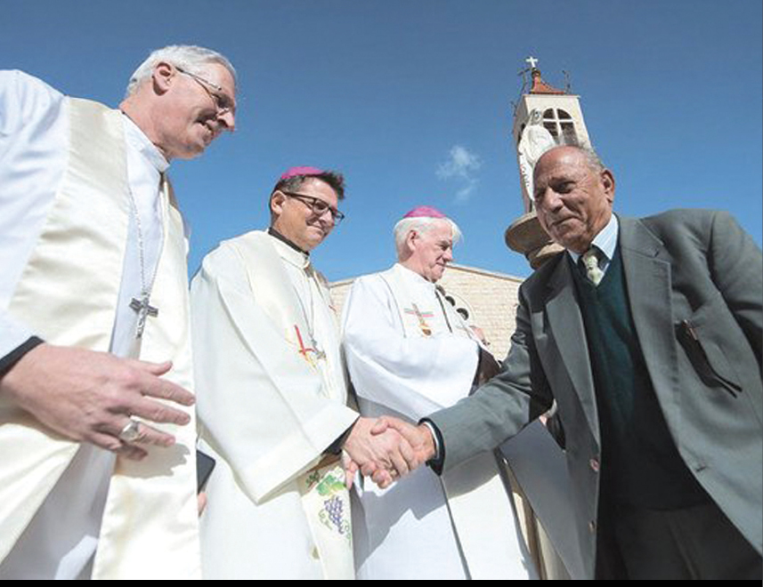Catholic bishops call on West to recognize Palestine