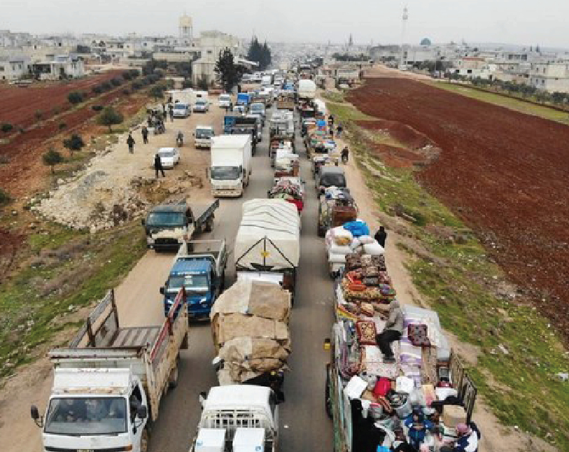 Northwest Syria violence displaces 500,000 in two months