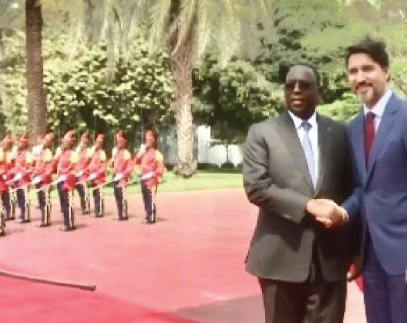 African president publicly rebukes Justin Trudeau for pushing 'gay pride' parades in Senegal