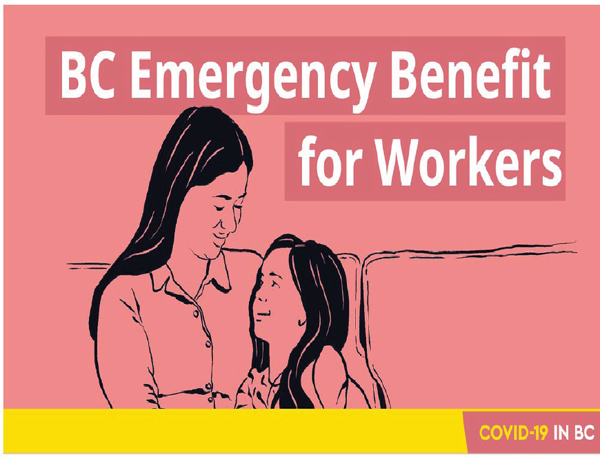 Online applications open for B.C. Emergency Benefit for Workers