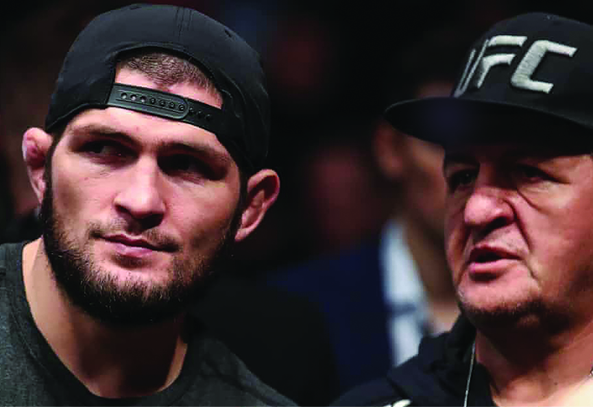 UFC champ Nurmagomedov says father critical with Covid-19, others in family have died