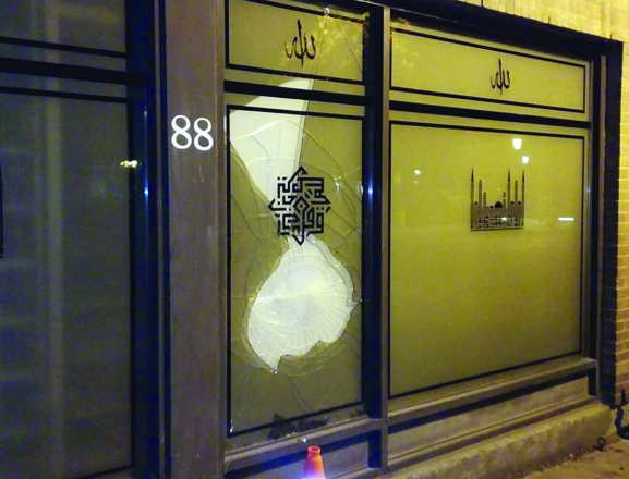 Toronto police investigate after mosque faces sixth vandalism attack