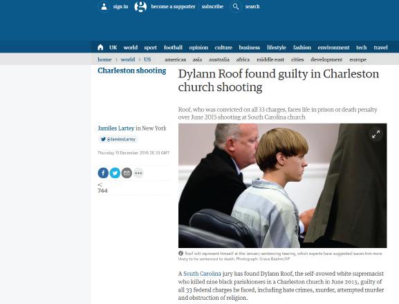 "Dylann guilty Verdict Exposes Media Double standards on ""Terrorism"""
