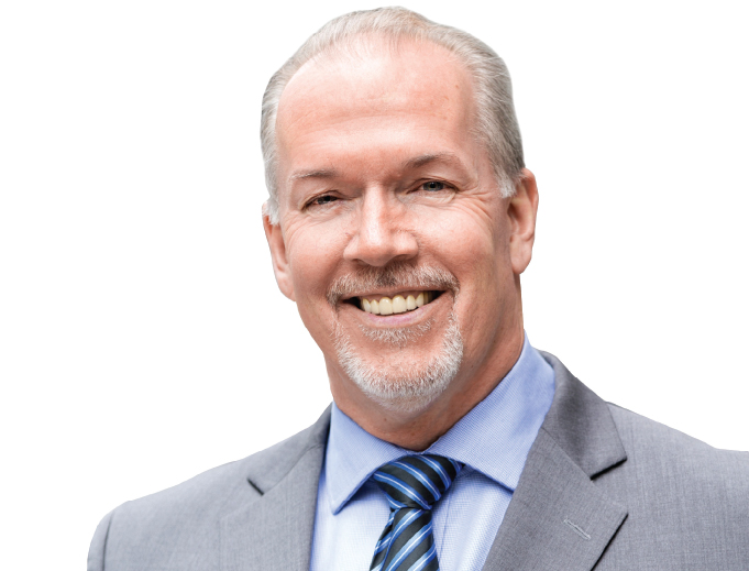 Letter of condolences from John Horgan and Harry Bains on behalf of the New Democrat Caucus.
