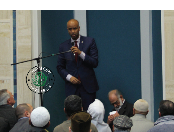 Minister of Immigration, Refugees and Citizenship Ahmed Hussen visits Richmond Jamea Masjid