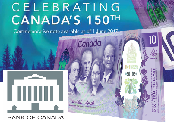 Coming Soon—Commemorative Bank Note for Canada's 150th