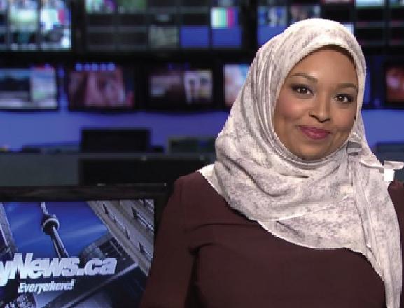 Canada's First Hijabi News Anchor
