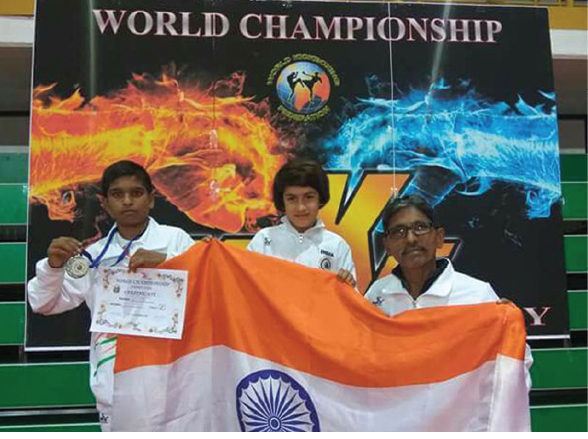 8-Year-Old Kashmiri Girl Tajamul Islam Makes India Proud, Crowned World Kickboxing Champion