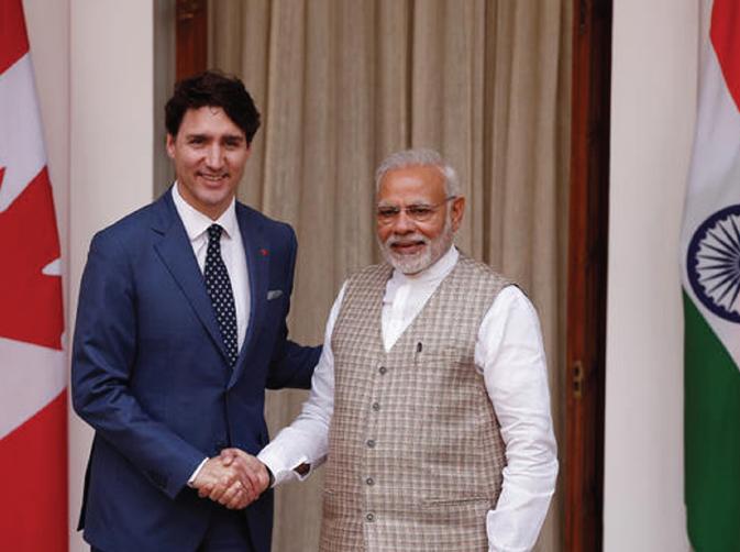 India Settles Old Score against Junior Trudeau
