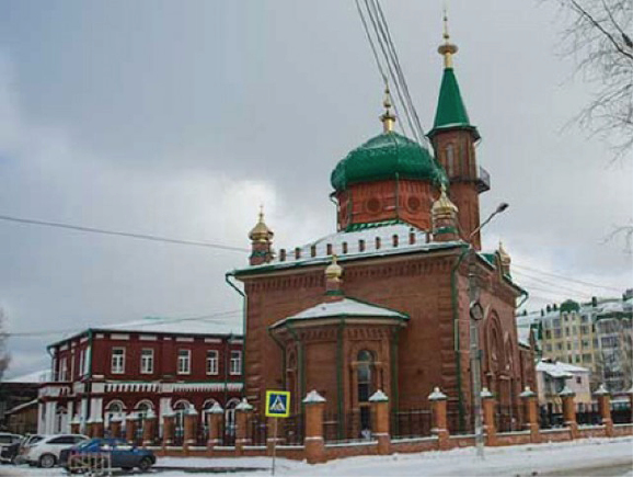 Red Juma Mosque opens after 90 years in Russia