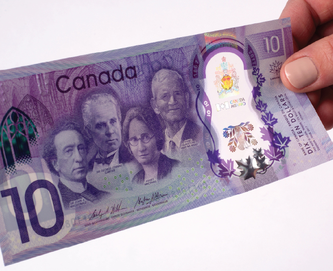 The Commemorative $10 Bill: Depicting the Beauty and Breadth of Canada